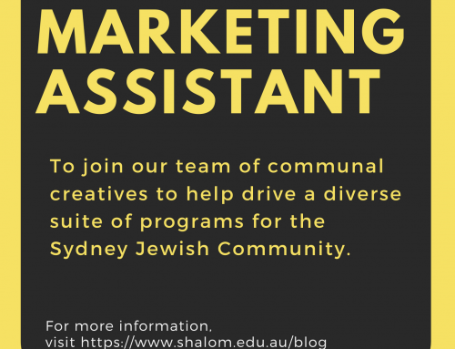 Marketing Assistant Position Available