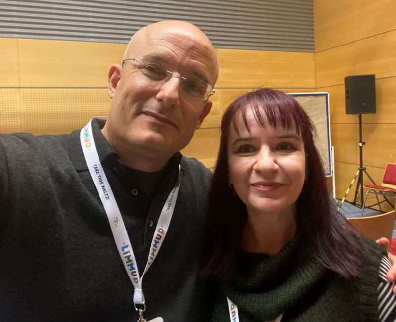 Image of Rimma and Gil Hovav at Limmud FSU