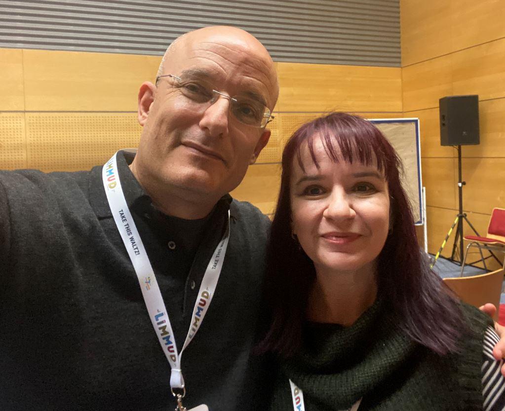 Image of Rimma and Gil Hovav at Limmud FSU