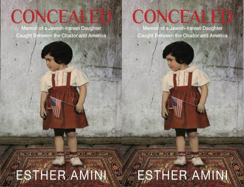 Author Esther Amini in conversation with Karmel Melamed